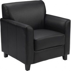 Able Collection Black Leather Chair