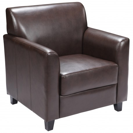 Able Collection Brown Leather Chair