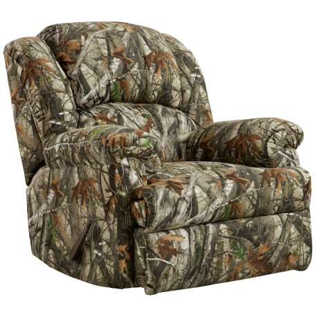 Next Camouflage Fabric Rocker Recliner