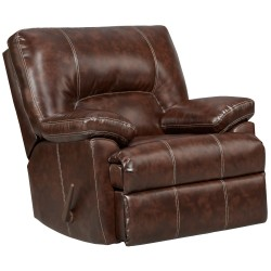Cheyenne Cafe Leather Rocker Recliner