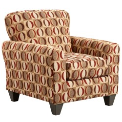 Lunar Cinnamon Accent Chair