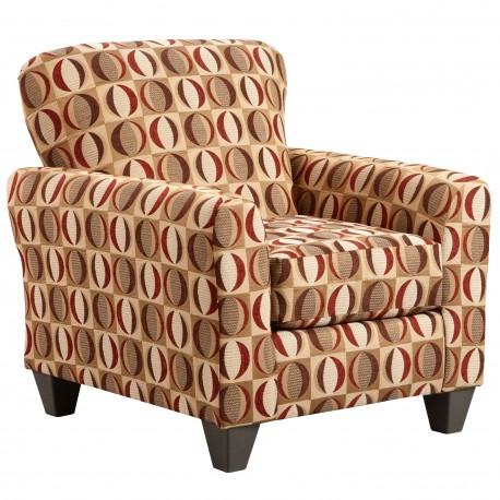 Lunar Cinnamon Accent Chair