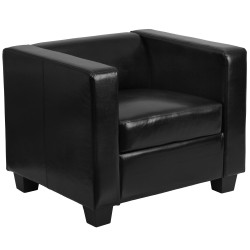 Comfort Collection Black Leather Chair
