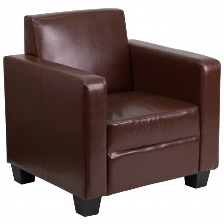 Primo Collection Brown Leather Chair