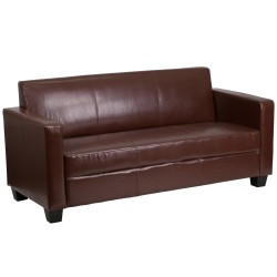 Primo Collection Brown Leather Sofa