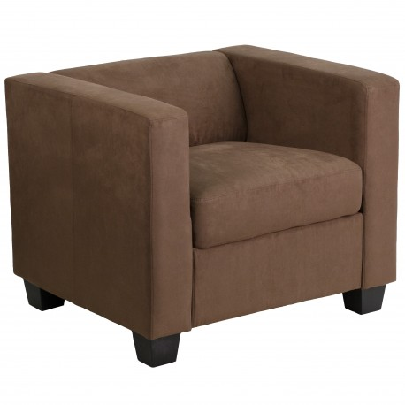 Comfort Collection Chocolate Brown Microfiber Chair