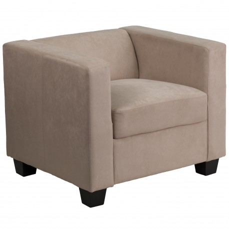 Comfort Collection Light Brown Microfiber Chair