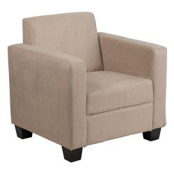 Primo Collection Light Brown Microfiber Chair
