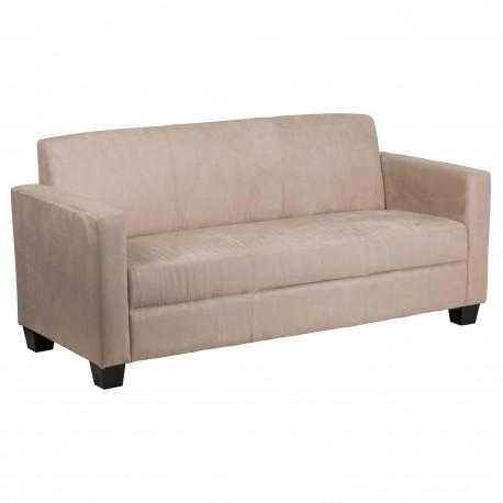 Primo Collection Light Brown Microfiber Sofa