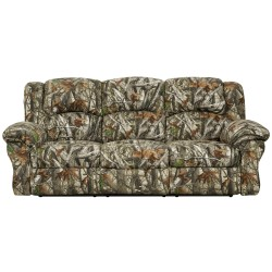 Next Camouflage Fabric Reclining Sofa