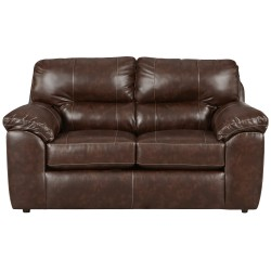 Cheyenne Cafe Leather Loveseat