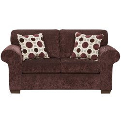 Prism Elderberry Microfiber Loveseat