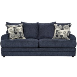 Caliber Navy Chenille Sofa