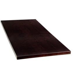 24'' x 45'' Rectangular Walnut Veneer Table Top