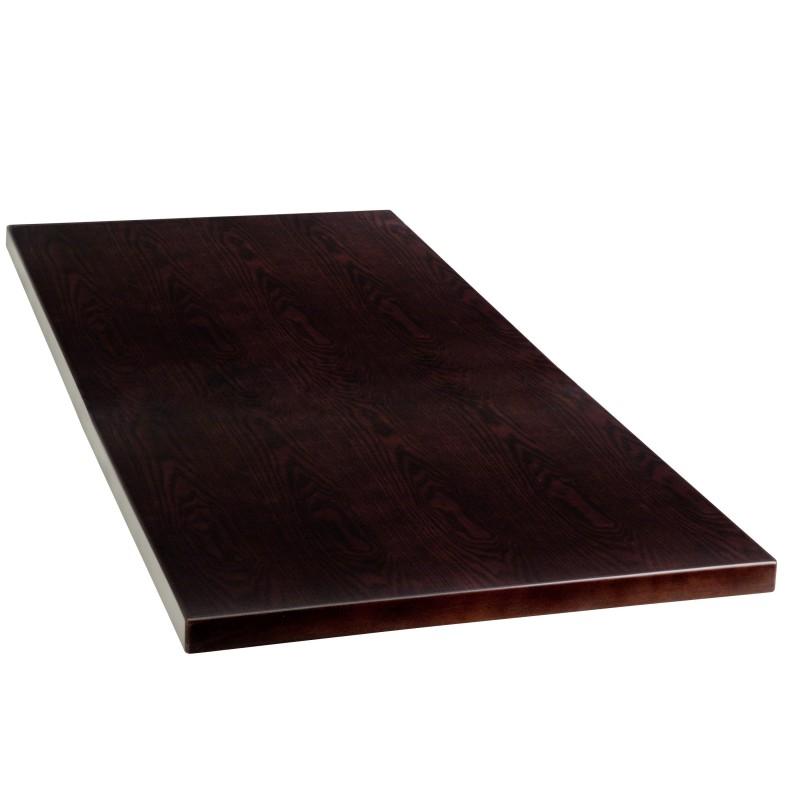 24u0027u0027 X 45u0027u0027 Rectangular Walnut Veneer Table Top