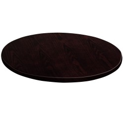30'' Round Walnut Veneer Table Top