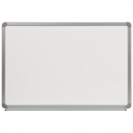 3' W x 2' H Porcelain Magnetic Marker Board