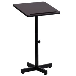 Adjustable Height Metal Lectern