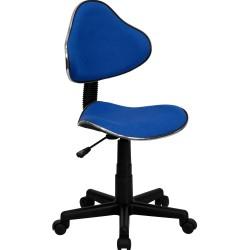 Blue Fabric Ergonomic Task Chair