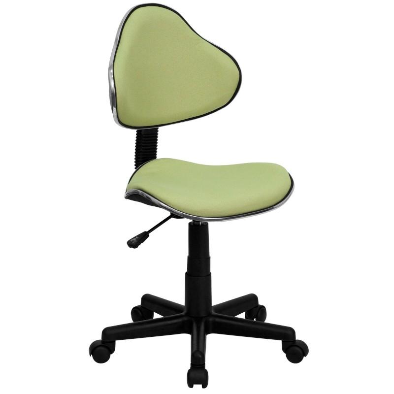 Avocado fabric ergonomic task chair - Ergo kids task chair ...