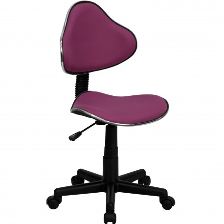 Lavender Fabric Ergonomic Task Chair