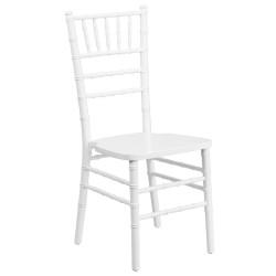 White Wood Chiavari Chair