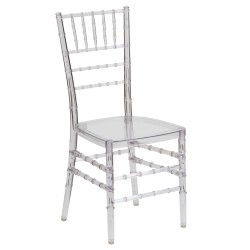 Friendly Elegance Crystal Ice Stacking Chiavari Chair