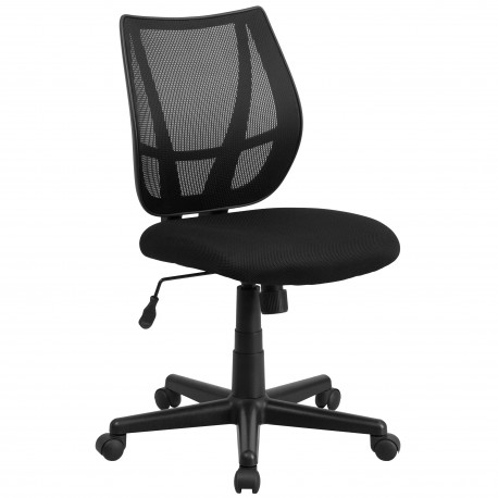 Mid-Back Black Mesh Task Chair