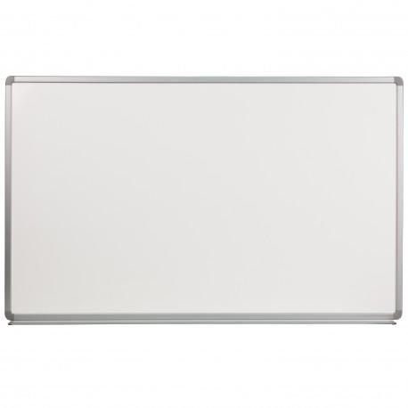 5' W x 3' H Porcelain Magnetic Marker Board