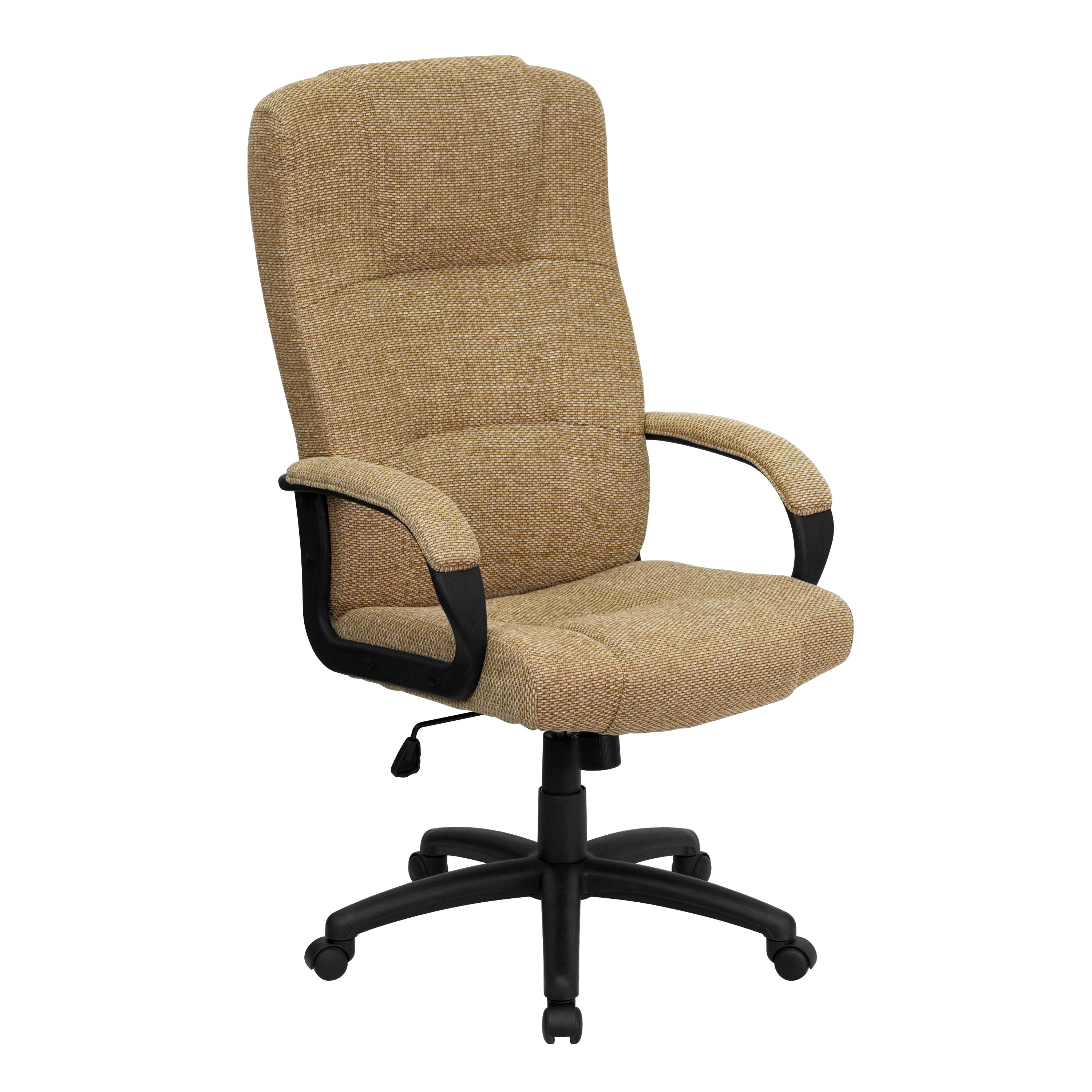 High Back Beige Fabric Executive fice Chair