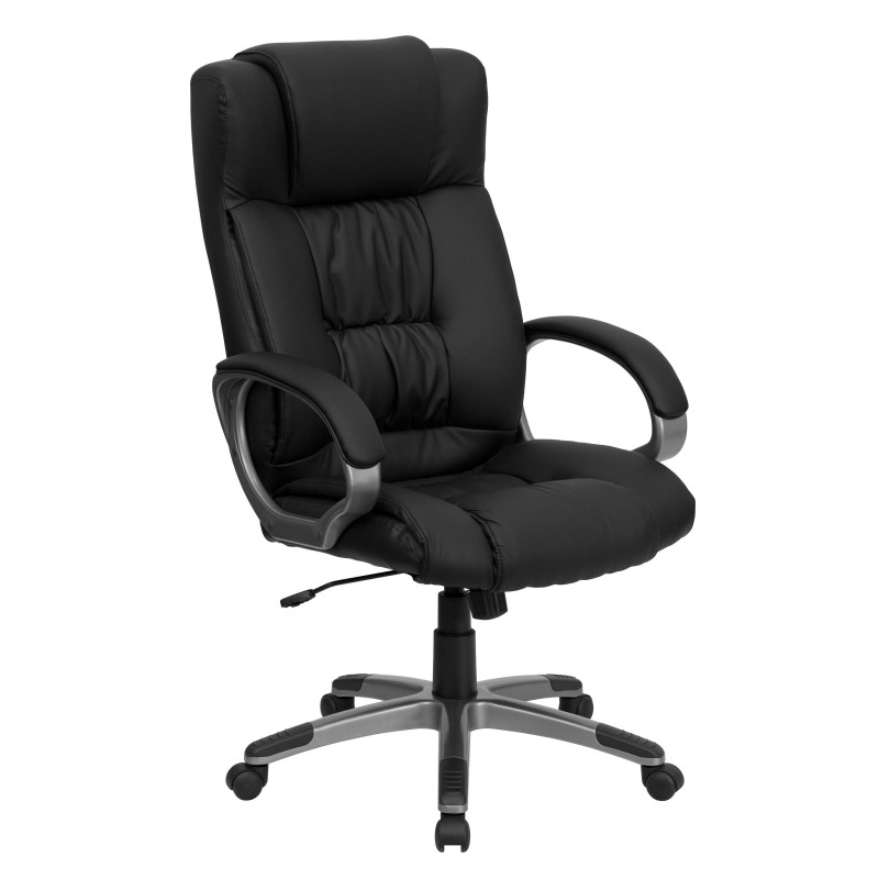 High Back Black Leather Executive fice Chair