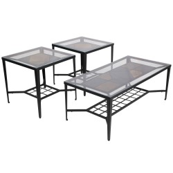Unsullied 3 Piece Occasional Table Set