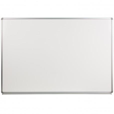 6' W x 4' H Porcelain Magnetic Marker Board