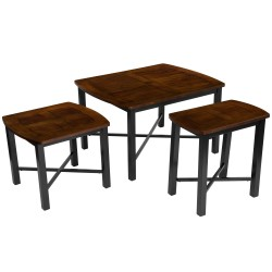 Fetzini 3 Piece Occasional Table Set