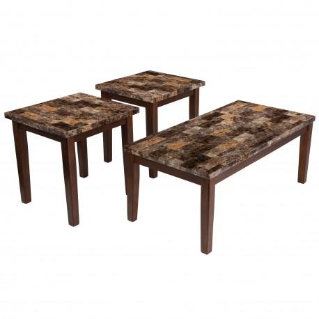 Fetzini 3 Piece Occasional Table Set