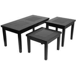 Stalwart 3 Piece Occasional Table Set