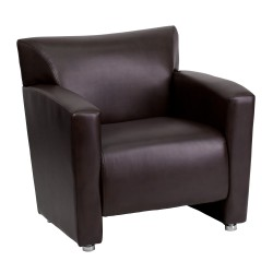 Sage Collection Brown Leather Chair