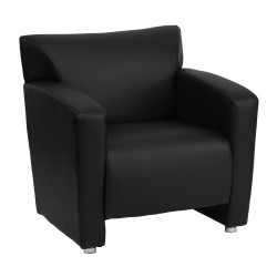 Sage Collection Black Leather Chair