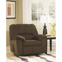 Champion Rocker Recliner in Cafe Fabric