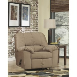 Champion Rocker Recliner in Mocha Fabric