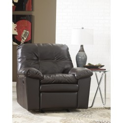 Jordon Rocker Recliner in Java DuraBlend