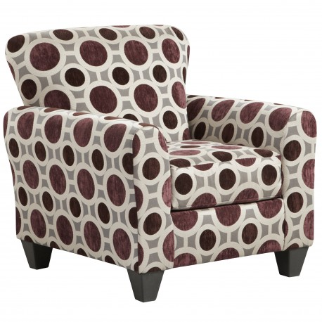 Conspiracy Mulberry Accent Chair