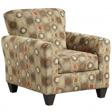 Paint Ball Honey Accent Chair