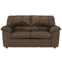 Champion Loveseat in Cafe Fabric