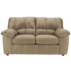 Champion Loveseat in Mocha Fabric