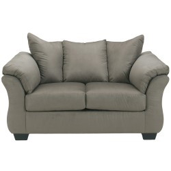 Eliana Loveseat in Cobblestone Fabric