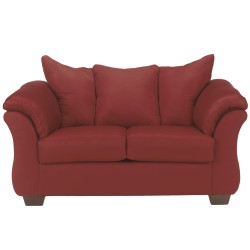 Eliana Loveseat in Salsa Fabric