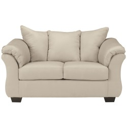Eliana Loveseat in Stone Fabric