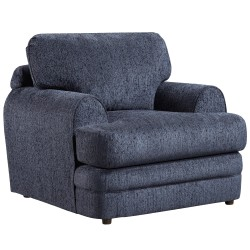 Caliber Navy Chenille Chair