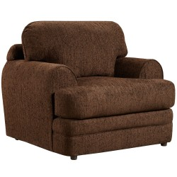 Caliber Walnut Chenille Chair